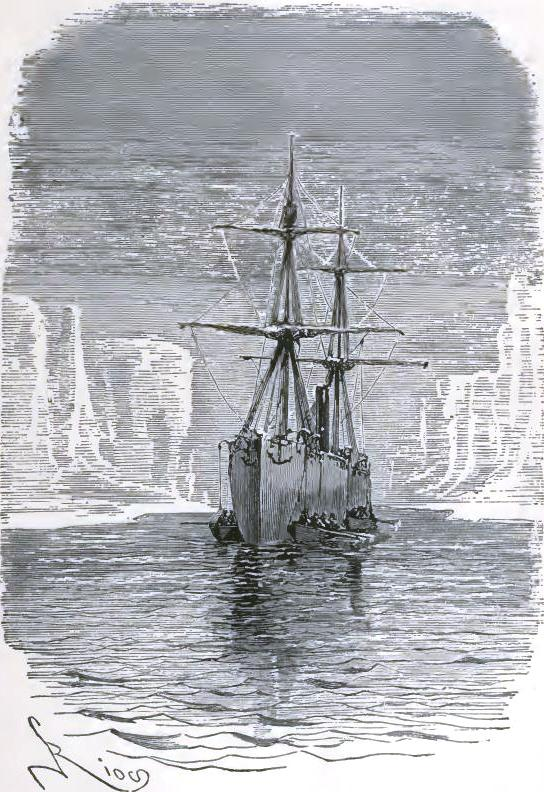 Hatteras made use of a device which whalers employ