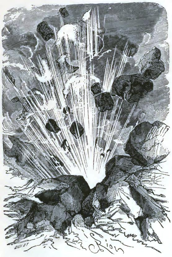A loud explosion followed