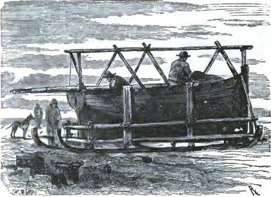 Packing the sledge