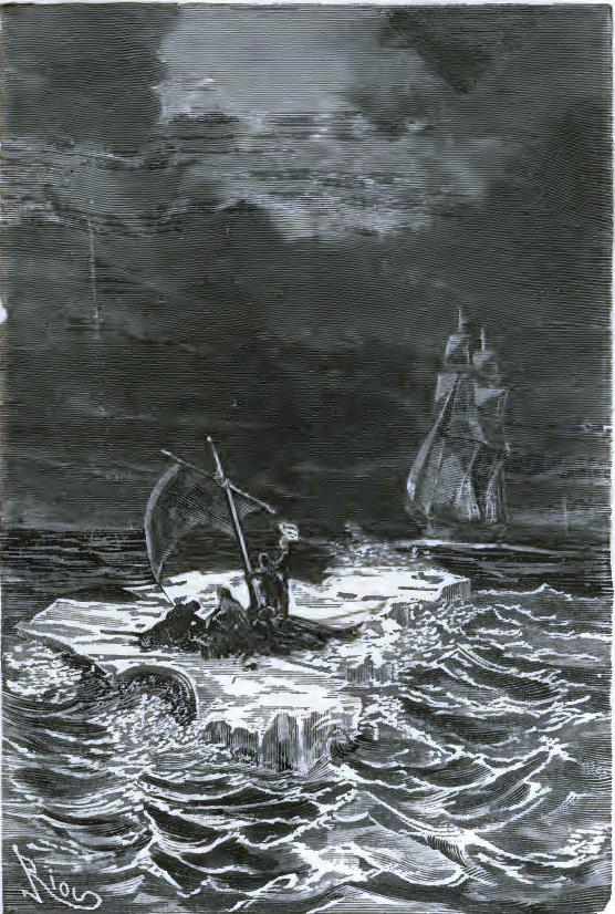 Taken aboard the Danish whaler