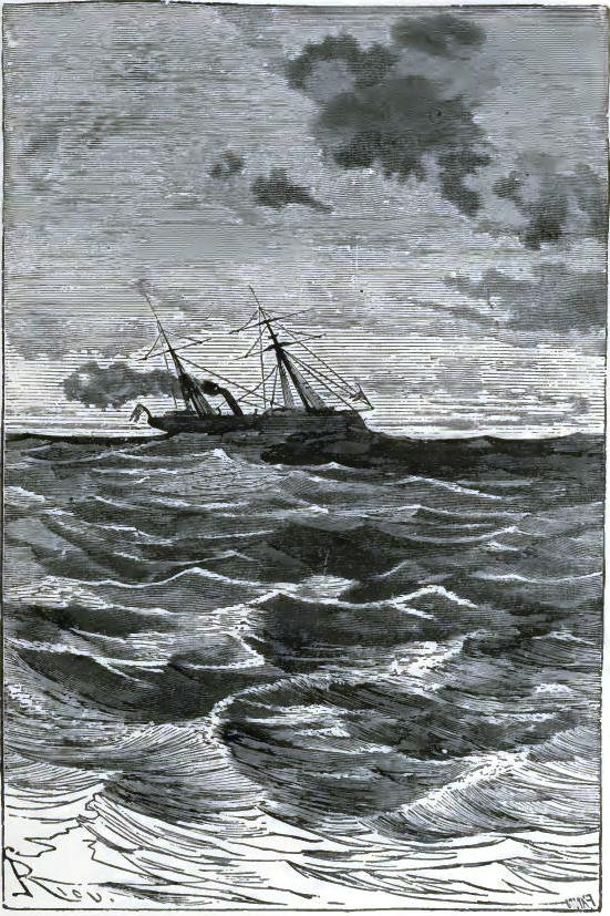 A steamboat carried them to Kiel
