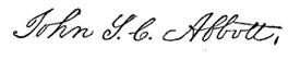 (signature) John S. C. Abbott.