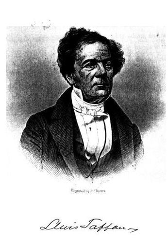 Lewis Tappan, esq. (Engraved by J. C. Buttre)