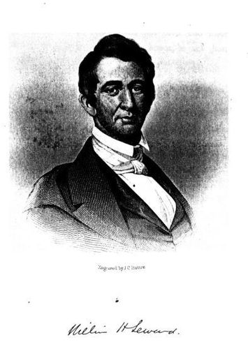William H. Seward. (Engraved by J. C. Buttre)