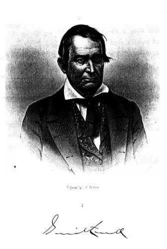 Gerritt Smith (Engraved by J. C. Buttre)