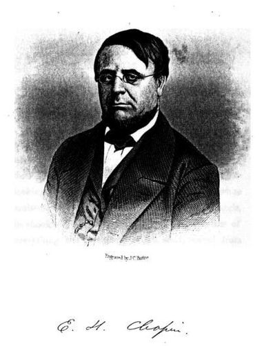 E. H. Chapin (Engraved by J. C. Buttre)