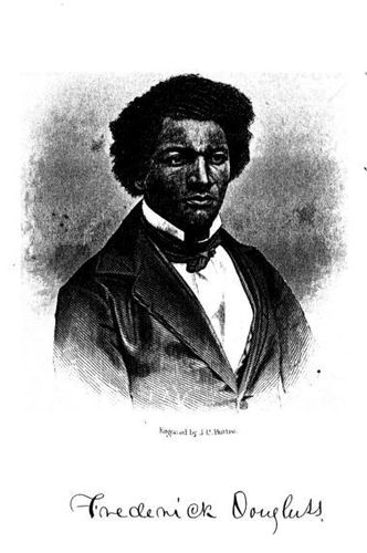 Frederick Douglass (Engraved by J. C. Buttre)