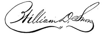 (signature) William D. Snow