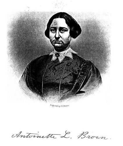 Antoinette L. Brown (Engraved by J. C. Buttre)