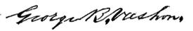 (signature) George B. Vashon.