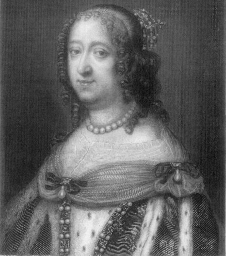 ANNE OF AUSTRIA.