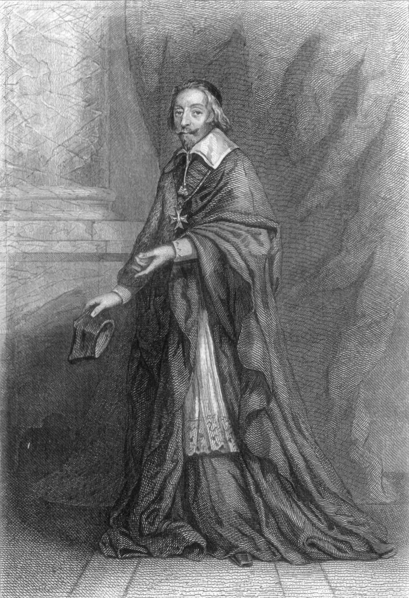 THE CARDINAL DE RICHELIEU.