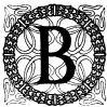 Ornate capital B