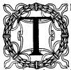 Ornate capital T