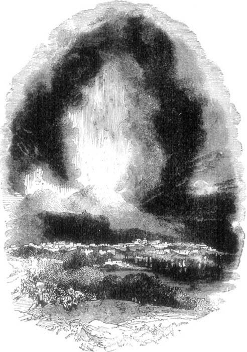 DESTRUCTION OF POMPEII.