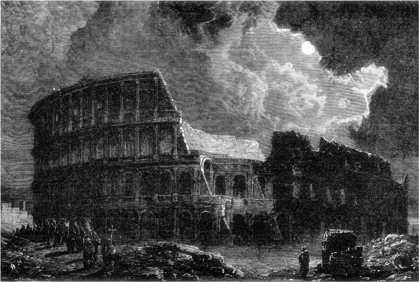 COLISEUM OF ROME.