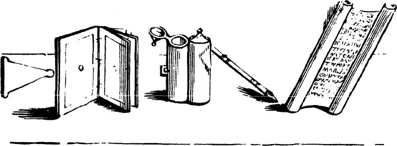 TABULÆ, CALAMUS, AND PAPYRUS.