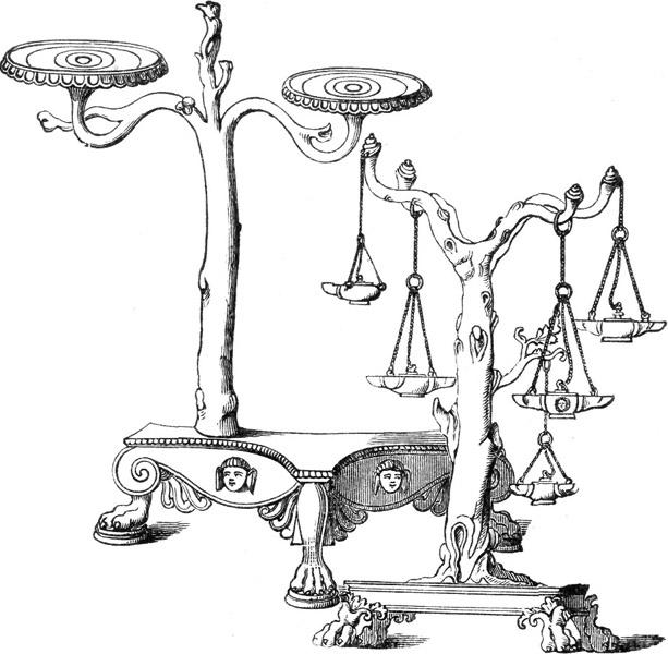 CANDELABRUM, OR LAMP STANDS.