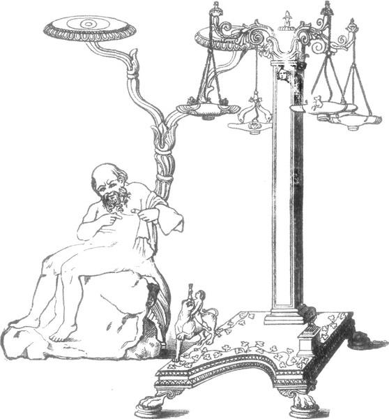 CANDELABRA, OR LAMP STANDS.