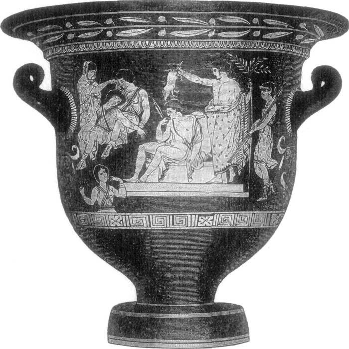 VASE (Found at Pompeii.)