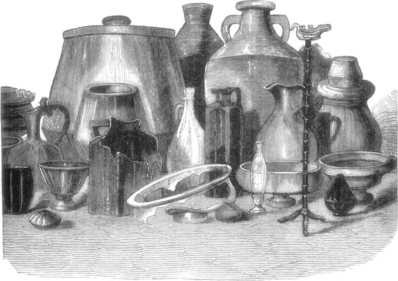 ANCIENT GLASS VESSELS.