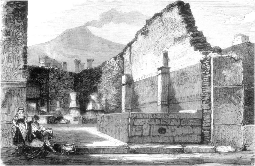 MILL AND BAKERY AT POMPEII.