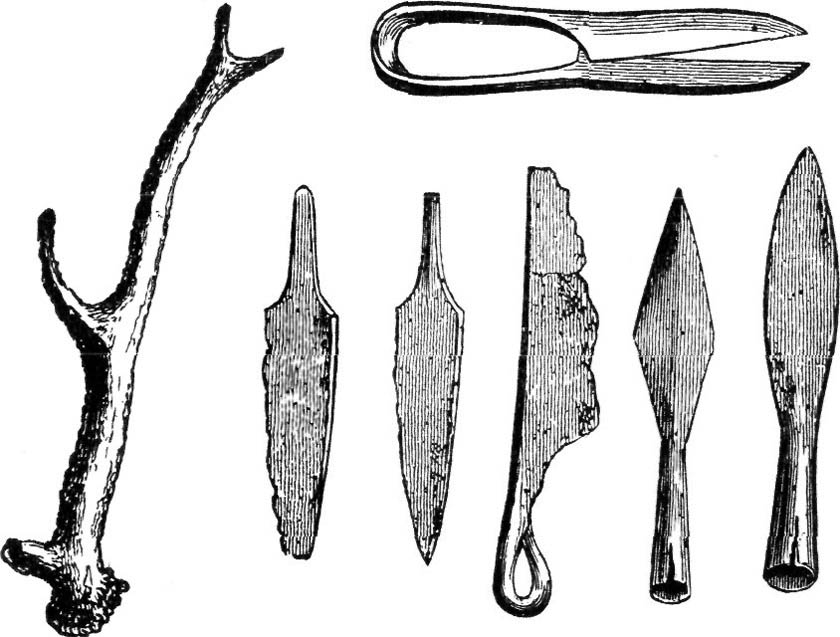 SHEARS, KNIVES AND SPEARS.