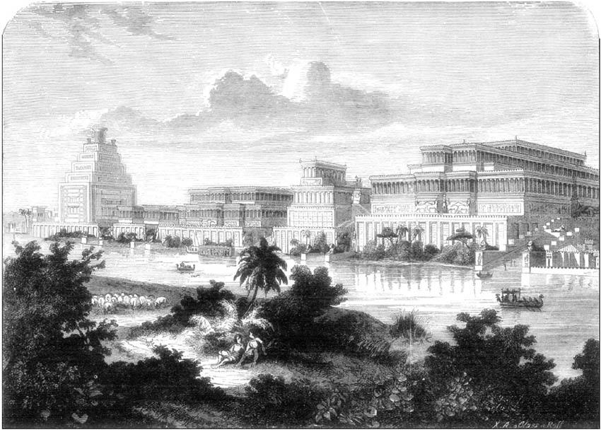 PALACE OF SENNACHERIB.