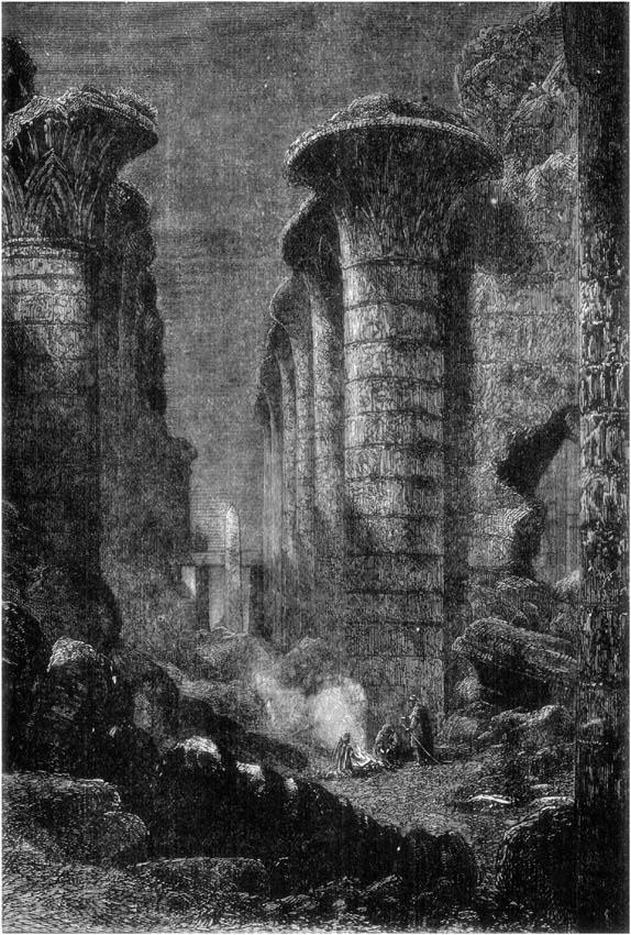 COLUMNS OF KARNAC.
