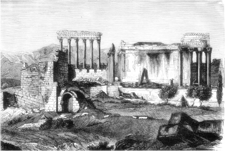 RUINS OF BAALBEC