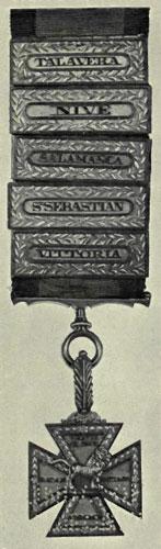Gold Cross of Sir William De Lancey