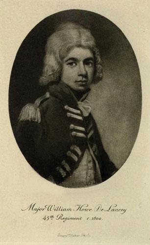 Major William Howe De Lancey