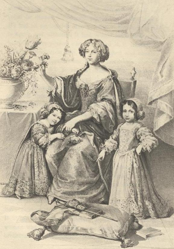Duchesse D'orleans and Her Children