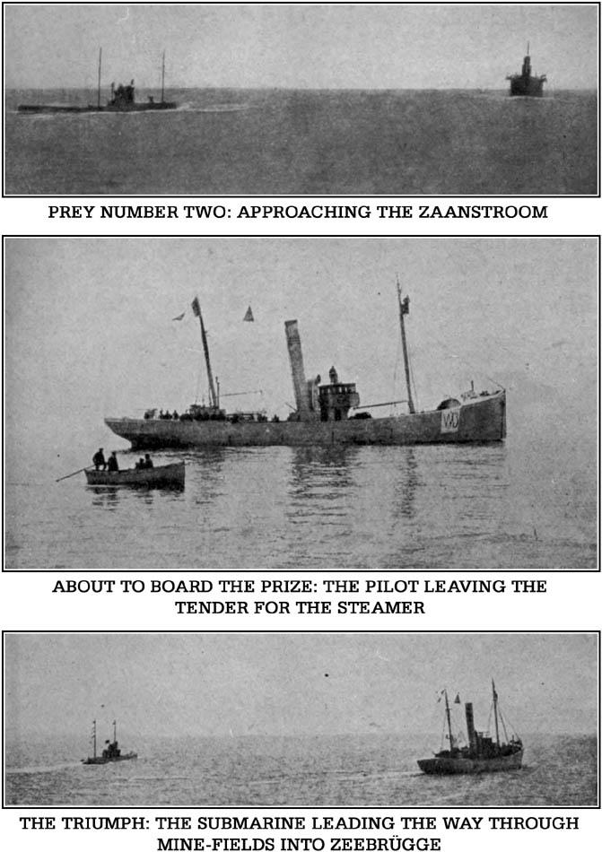Von Forstner's Submarine in Action in the North Sea 2