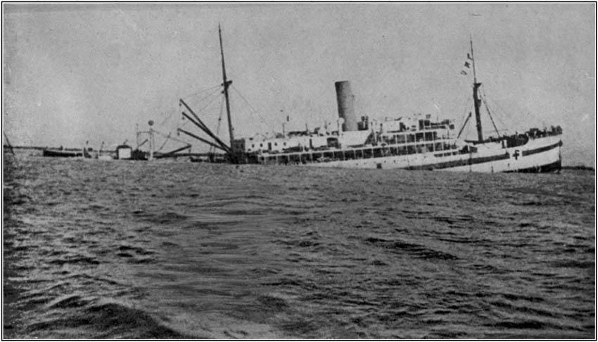British Hospital Ship Gloucester Castle