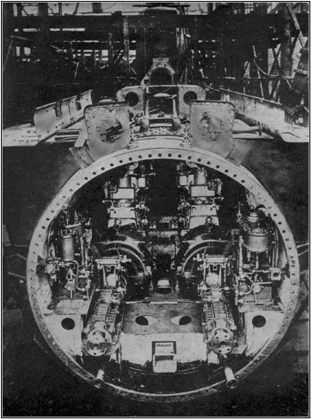 Interior of a Submarine
