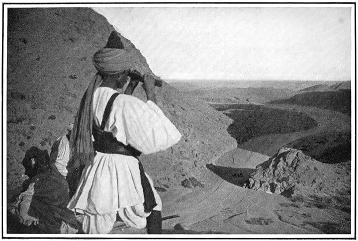 The Khaiber Pass. Khaiber Rifle Sepoy on the Watch