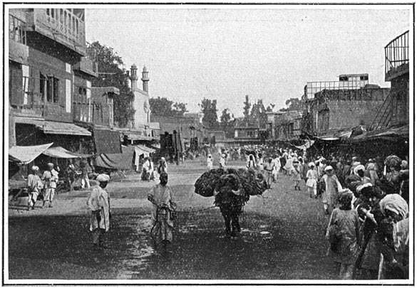 The Chief Bazaar, Peshawur City