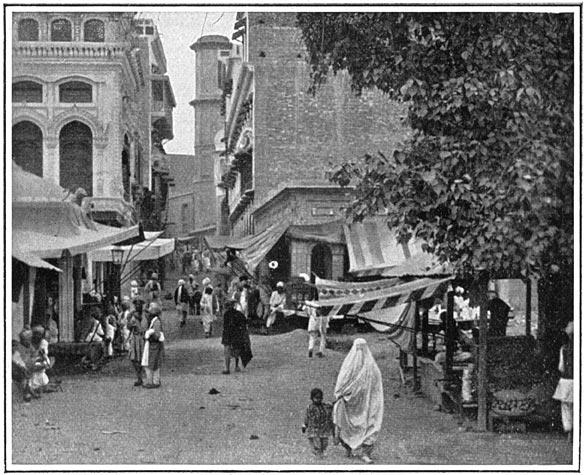 The Bazaar in Peshawur City