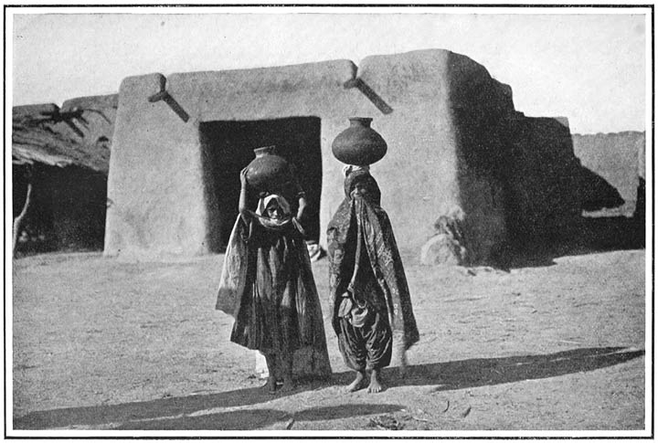 Women carrying Waterpots