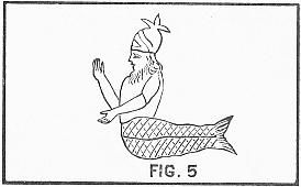 a Dagon, half-man and half-fish