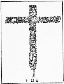 crucified god Indra