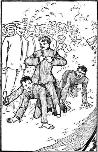 Illustration: Eph Raced After Jack, Barking at Him.