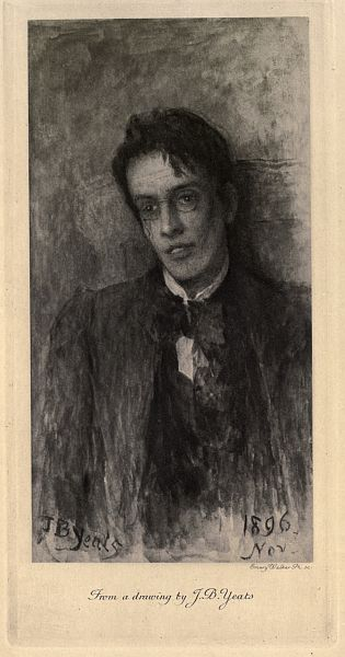 Yeats: Emery Walker, Ph. sc. From a drawing by J. B. Yeats