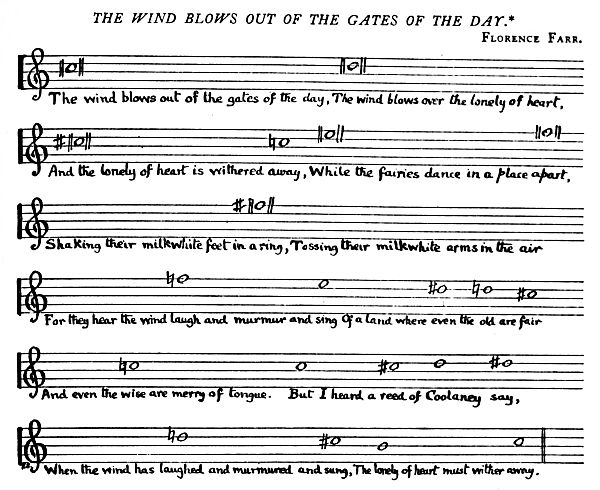 Music: The Wind Blows Out of the Gates of the Day
