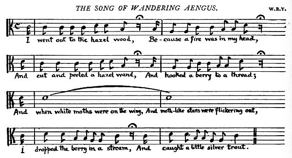 Music: The Song of the Wandering Aengus