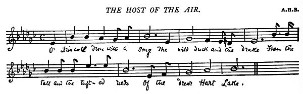 Music: The Host of the Air.
