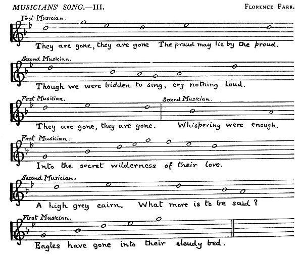 Music: Deirdre: Musician's Song III
