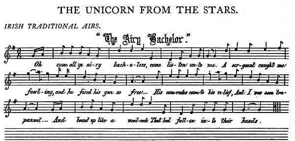 Music: The Unicorn: The Airy Bachelor