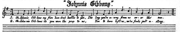 Music: The Unicorn:  Johnny Gibbons
